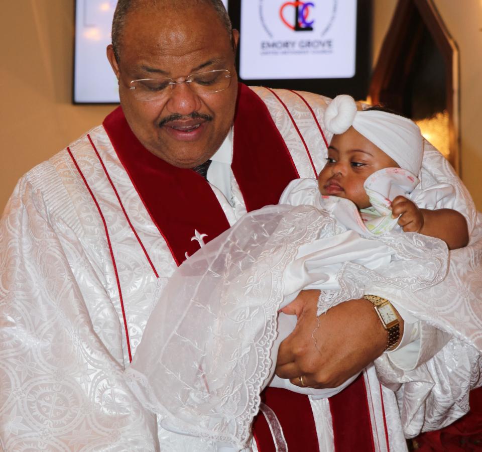 Baby Baptism – Azaria Frazier